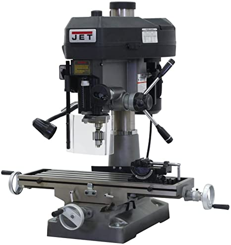 1. JET JMD-18 350018 230-Volt 1 Phase Milling/Drilling Machine