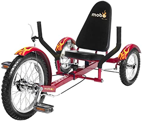 3. Mobo Triton Pedal Go Kart Trike. Kids 3-Wheel Bike. Youth Cruiser Tricycle
