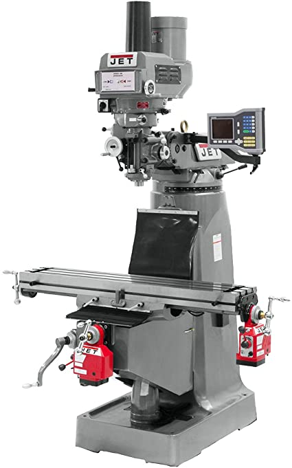 10. JET Vertical Milling Machine