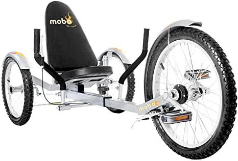 6. Mobo Triton Pro Adult Tricycle for Men & Women. Beach Cruiser Trike. Pedal 3-Wheel Bike