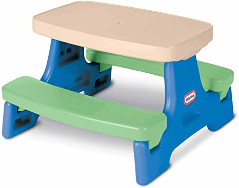 1. Little Tikes Easy Store Jr. Play Table [Amazon Exclusive]