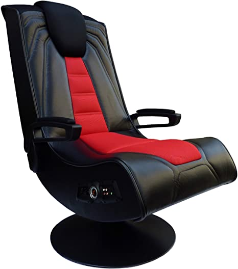 6. X Rocker Pedestal Extreme III 2.1 Sound Wireless Video Foldable Gaming Chair