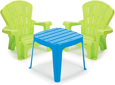 9. Little Tikes Garden Table and Chairs Set