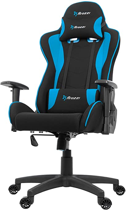 7. Arozzi Forte Racing Style Fabric Gaming Chair