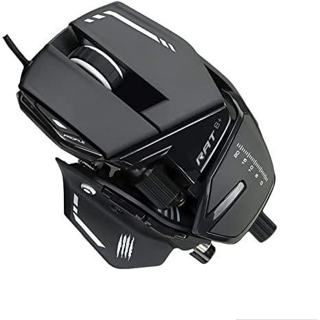8. Mad Catz The Authentic R.A.T. 8+ Optical Gaming Mouse