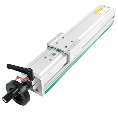 7. Linear Rail Guide Slide Table 600mm Ball Screw SFU1204 Enclosed Structure Manual Slide Stage with Ruler