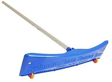 3. Avalanche! Snow Rake Deluxe 20: 24 Inch Wide Traditional Snow Roof Rake