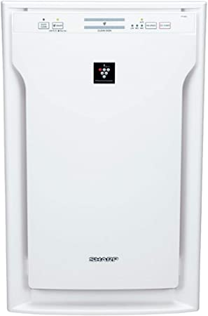 3. Sharp Dual Action Air Purifier, with Safe and Patented PlasmaclusterIon Technology + True HEPA Filter