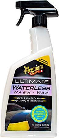 2. MEGUIAR'S G3626 Ultimate Waterless Wash & Wax, 26 Fluid Ounces