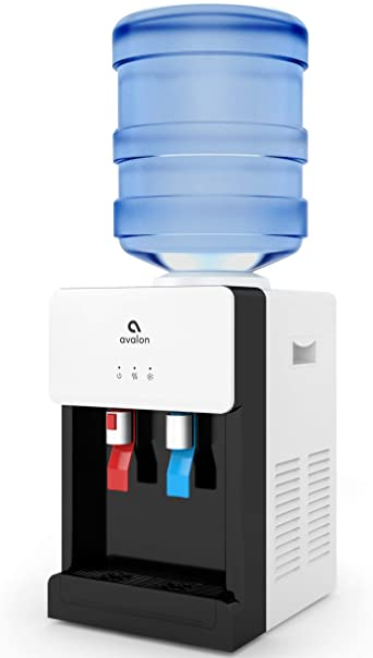 2. Avalon Premium Hot/Cold Top Loading Countertop Water Cooler Dispenser