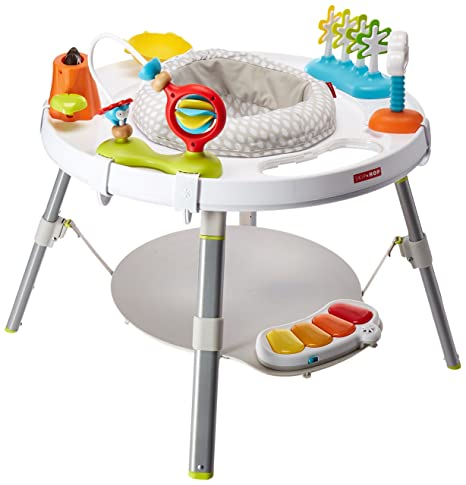 4. Skip Hop Baby Activity Center: Interactive Play Center with 3-Stage Grow-with-Me Functionality