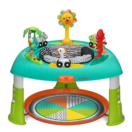 5. Infantino 3-in-1 Spin & Stand Entertainer - 360 seat and Activity Table