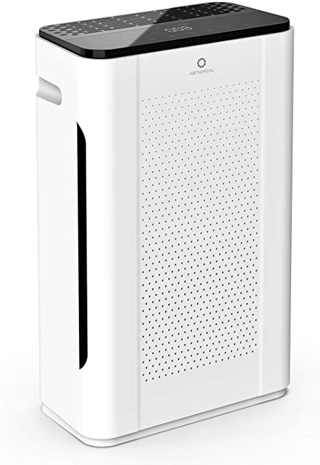 1. Airthereal APH260 Air Purifier with UV-C Sanitizer and True HEPA Filter-Removes Allergies, Dust, Smoke, and Odors