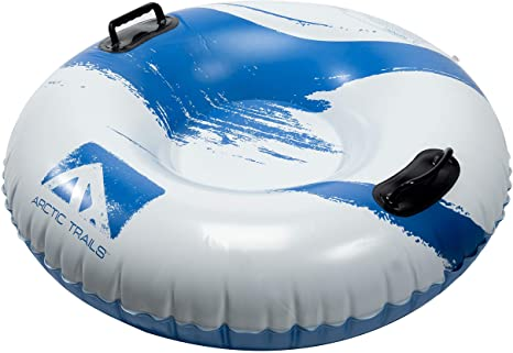 1. Franklin Sports Arctic Trails Inflatable Snow Sled