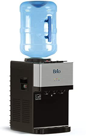 3. Brio Limited Edition Top Loading Countertop Water Cooler Dispenser