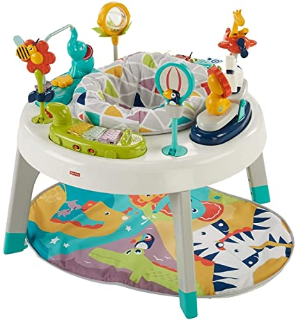 6. Fisher-Price 3-in-1 Sit-to-Stand Activity Center