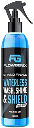 1. Flowgenix Grand Finale Waterless Car Wash Shine and Shield