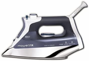 3. Rowenta DW8080 Professional Micro Steam Iron Stainless Steel Soleplate