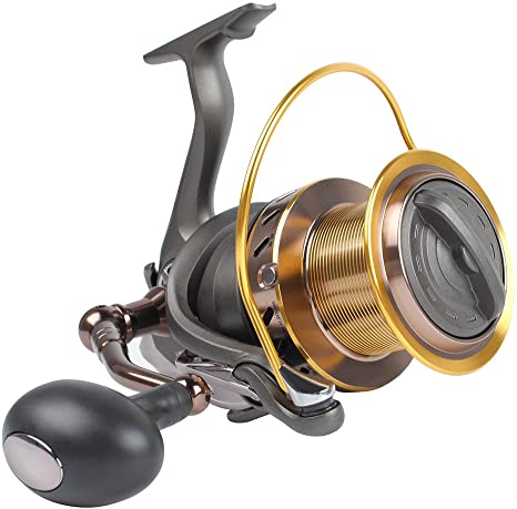 4. Dr.Fish Saltwater 10000/12000 Spinning Reel for Surf Fishing