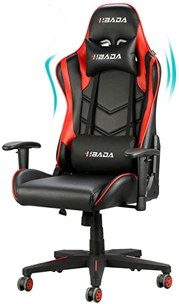 4. Hbada Gaming Chair Racing Style Ergonomic High Back Computer Chair