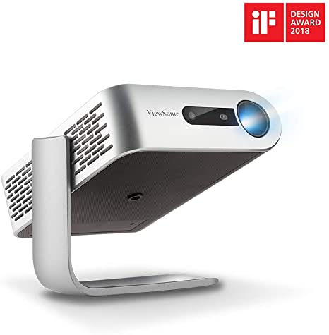 4. ViewSonic M1+ Portable Smart Wi-Fi Projector