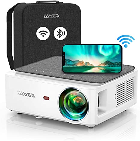 1. YABER V6 WiFi Bluetooth Projector