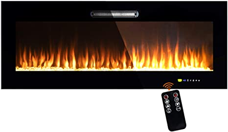 8. Beyond Breeze 50 Inches Electric Fireplace