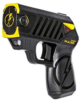 8. Taser Pulse with 2 Cartridges, LED Laser with/2 Cartridges, and Target,Black
