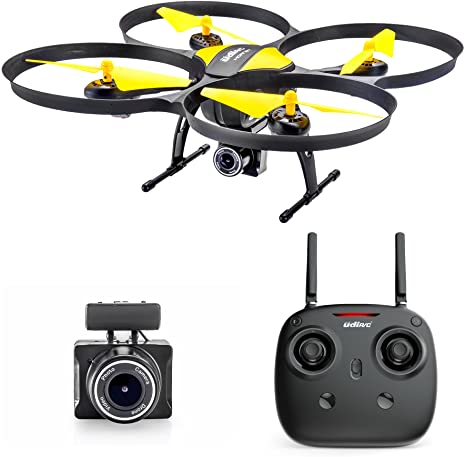5. Altair 818 Hornet Beginner Drone with Camera | Live Video Drone for Kids & Adults, 15 Min Flight Time