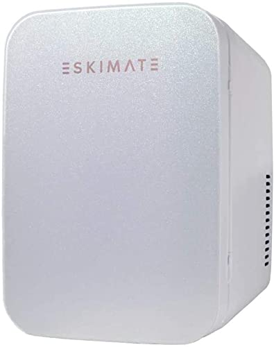 7. ESKIMATE 6 Liter Compact Portable Mini Fridge for Bedroom, Office, Car, Dorm with Thermoelectric Cooler and Warmer