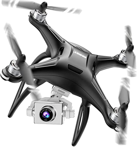 1. SIMREX X11 Upgraded GPS Drone with 1080P HD Camera 2-Axis Self stabilizing Gimbal 5G WiFi FPV Video RC Quadcopter