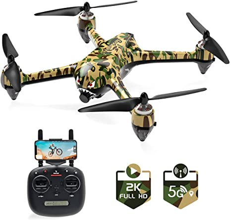 7. SNAPTAIN SP700 GPS Drone with Brushless Motor, 5G WiFi FPV RC Drone for Adult