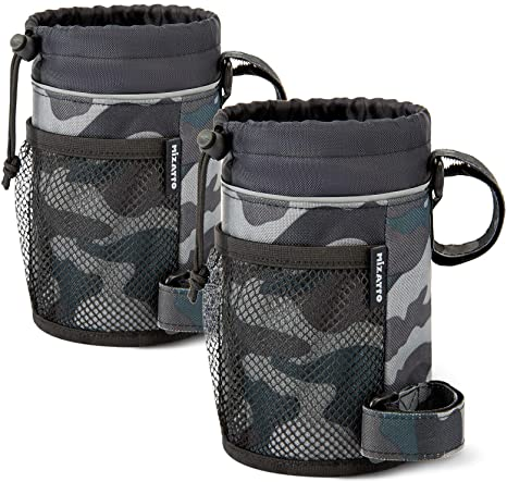 1. MIZATTO 2 Pack Bike Cup Holder - Water Bottle Holder for Bike, Boat, Scooter, Wheelchair etc