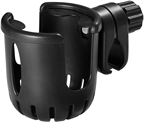 10. Cup Holder for Bike, Bicycle Water Bottle Holder (No Screws), Universal Bike Drink Holder with 360-degree Rotation