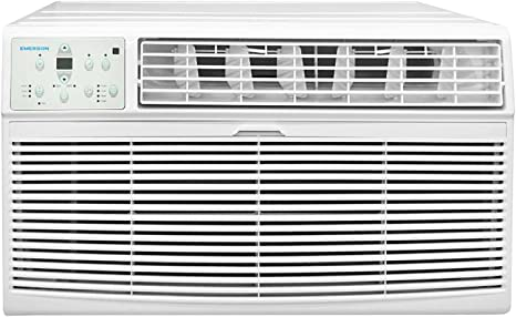 1. Emerson Quiet Kool 230V 12K BTU Air Conditioner with Remote Control-Quiet In Wall A/C Unit, EATC12RE2, White