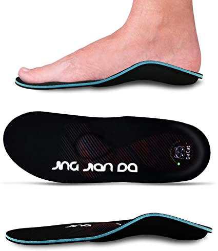 10. Severe Flat Feet Arch Support Insoles