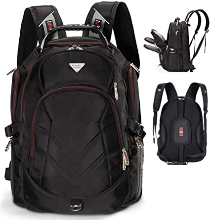 7. FreeBiz 18.4 Inches Laptop Backpack Fits up to 18 Inch Gaming Laptops for Dell, Asus, Msi, Hp (Black)
