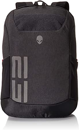 5. Alienware m17 Pro Gaming Laptop Backpack 15-Inch to 17-Inch, Gray/Black, (AWM17BPP)