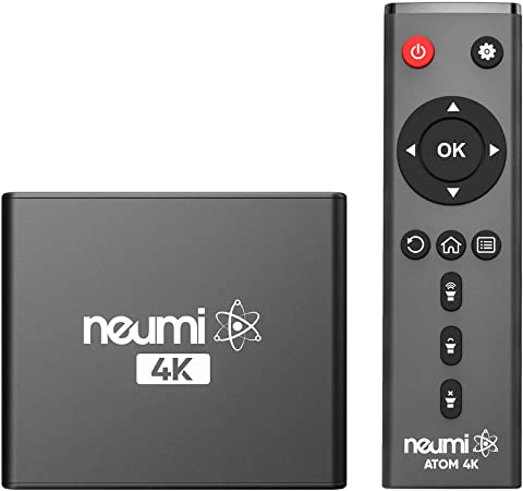 3. NEUMI Atom 4K Ultra-HD Digital Media Player for USB Drives and SD Cards - with HDMI and Analog AV